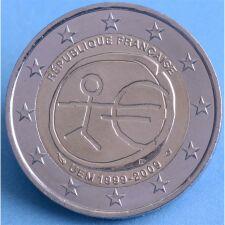 """Frankreich 2 Euro 2009 """"WWU"""" unc."""