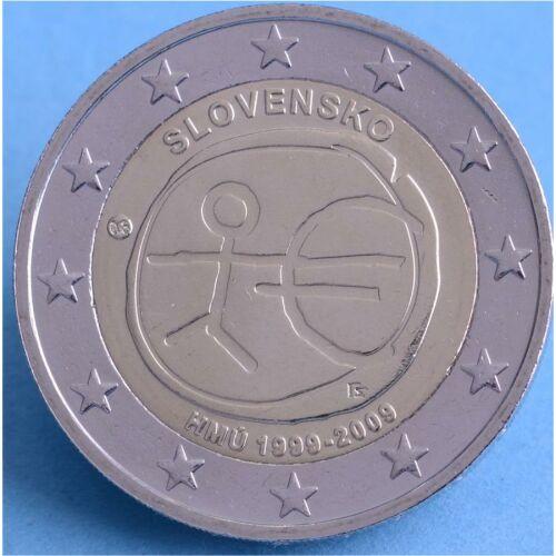 "Slowakei 2 Euro 2009 ""WWU"" unc."
