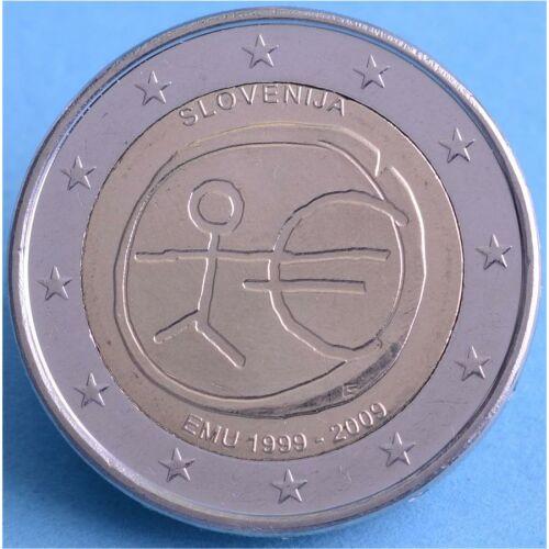 """Slowenien 2 Euro 2009 """"WWU"""" unc."""