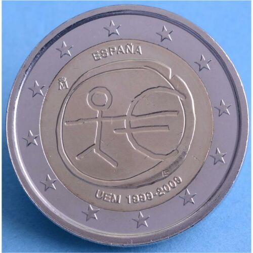 """Spanien 2 Euro 2009 """"WWU"""" unc."""