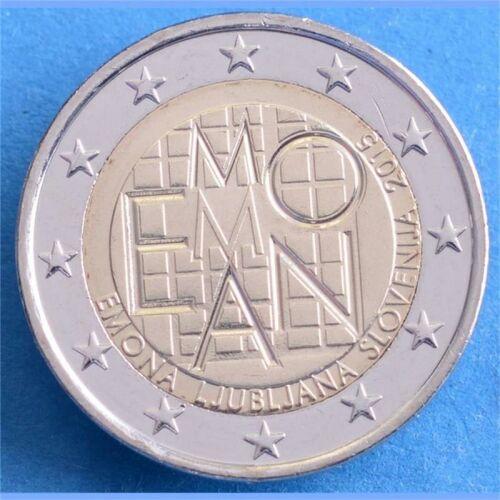 """Slowenien 2 Euro 2015 """"Emona"""" unc."""
