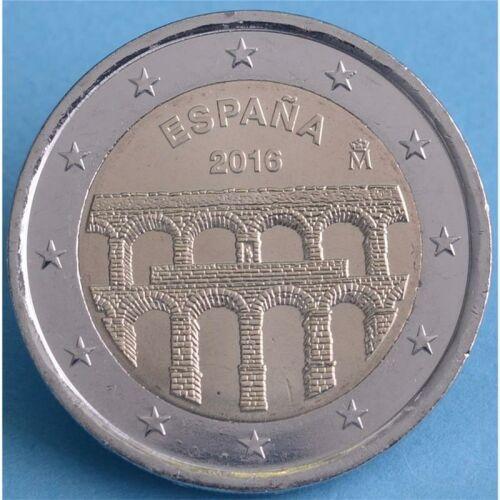 "Spanien 2 Euro 2016 ""Aquädukt von Segovia"" unc."