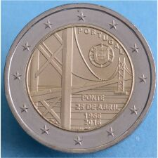 Portugal 2 Euro 2016 Br�cke des 25. April unc.