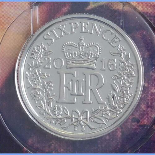 Groß Britannien Sixpence 2016