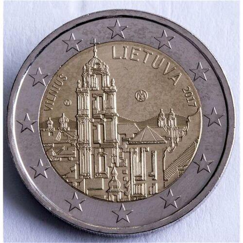 """Litauen 2 Euro 2017 """"Vilnius"""" unc."""