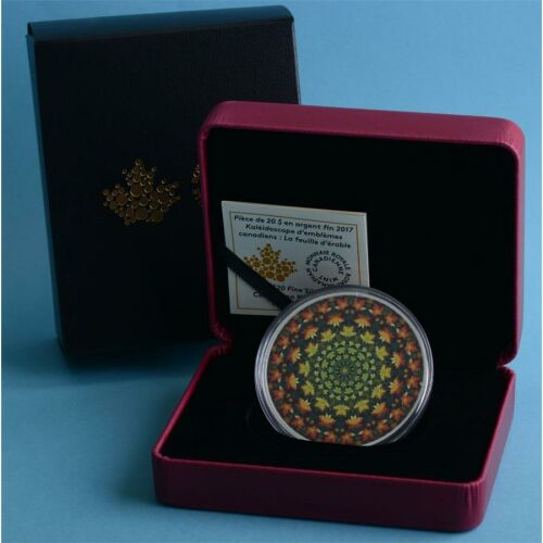 Kanada 20 Dollar 2017 Canadiana Kaleidoscope - Maple Leaf...
