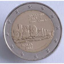 "Malta 2 Euro 2017 ""Hagar Qim Tempel"" unc."