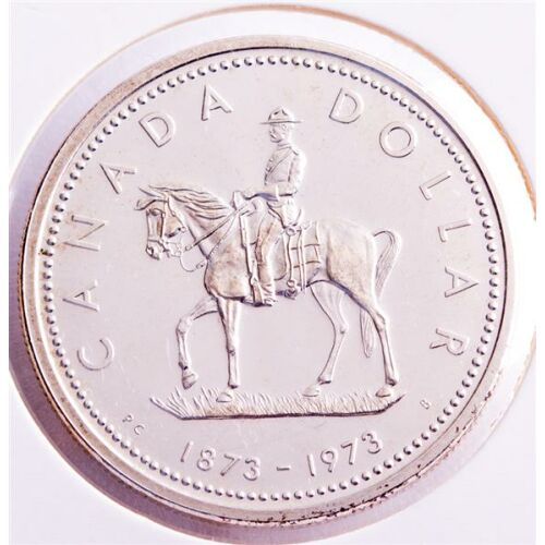 Kanada 1 Dollar 1973 - Polizei / Mounted Police*