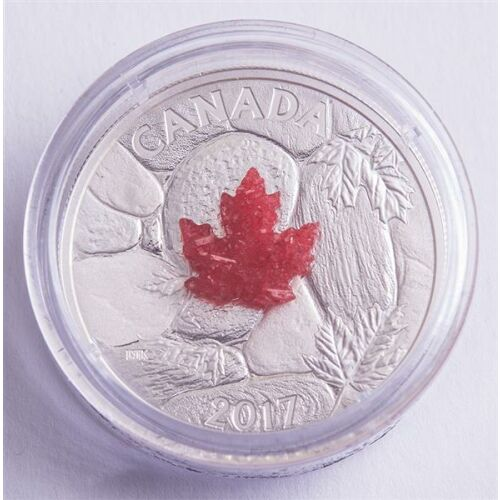 Kanada 20 Dollar 2017 Maple - Drusy Stone PP