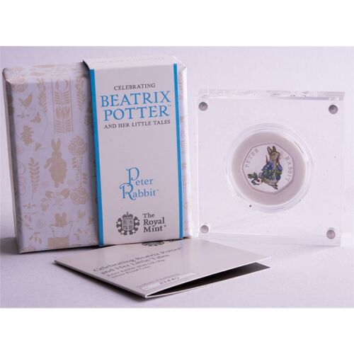 Groß Britannien 50 pence 2018 Beatrix Potter - Peter...