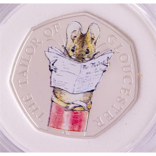 Groß Britannien 50 pence 2018 Beatrix Potter - Tailor of...