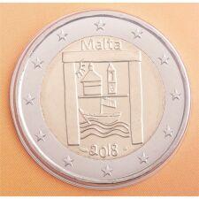 "Malta 2 Euro 2018 ""Kulturelles Erbe"" Coincard"