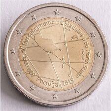 "Portugal 2 Euro 2019 ""Insel Madeira"" unc."