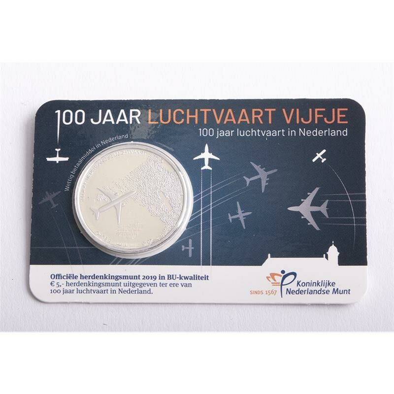 niederlande 5 euro 2019 luftfahrt bu starshop coins. Black Bedroom Furniture Sets. Home Design Ideas