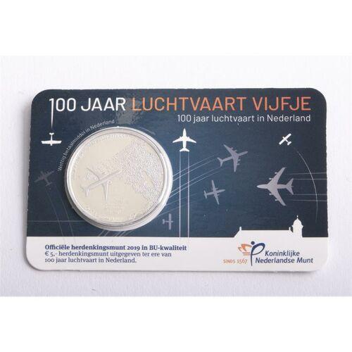 """Niederlande 5 Euro 2019 """"Luftfahrt"""" BU"""