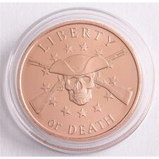 Copper Coin - Liberty or Death