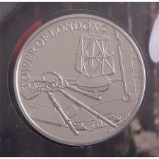 """Groß Britannien 5 Pfund 2019 """"Tower von London - Ceremony of the Keys"""" BU"""