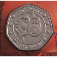 """Groß Britannien 50 pence 2019 """"Wallace & Gromit"""" BU"""