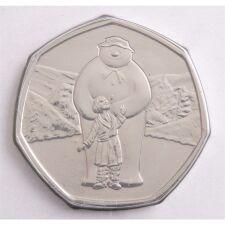 "Groß Britannien 50 pence 2019 ""Snowman"" BU"