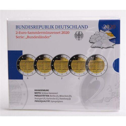 """Deutschland 2 Euro 2020 """"Schloß Sanssouci"""" PP"""
