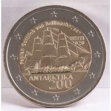 "Estland 2 Euro 2020 ""Antarktis"" unc."