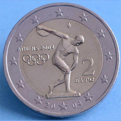 """Griechenland 2 Euro 2004 """"Olympische Spiele Athen"""""""