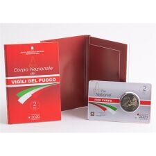 "Italien 2 Euro 2020 ""Feuerwehr"" BU"