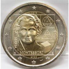 """Italien 2 Euro 2020 """"Montessori"""" unc"""