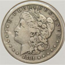 USA Morgan Dollar 1881*