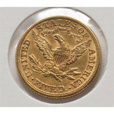USA 5 Dollar 1881 - Liberty - Coronet Head - Gold