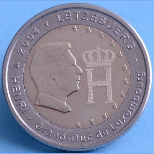 """Luxemburg 2 Euro 2004 """"Monogramm"""""""