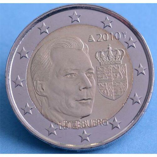 "Luxemburg 2 Euro 2010 ""Wappen """