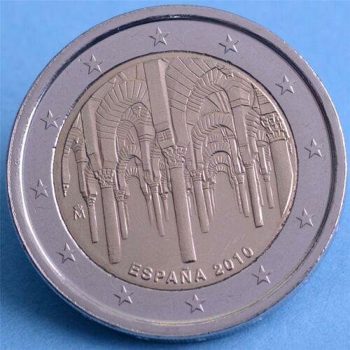 """Spanien 2 Euro 2010 """"Moschee von Cordoba"""" unc."""