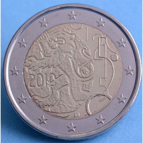 """Finnland 2 Euro 2010 """"150 Jahre finnische Währung"""" unc."""