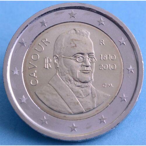 """Italien 2 Euro 2010 """"Camillo Benso Graf Cavour"""" unc."""