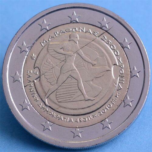 """Griechenland 2 Euro 2010 """"Marathon"""" unc."""