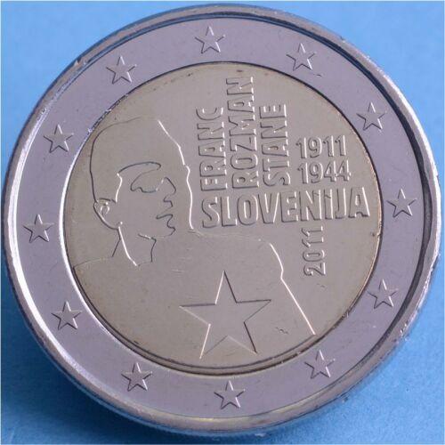 "Slowenien 2 Euro 2011 ""Franc Rozman Stane"" unc."