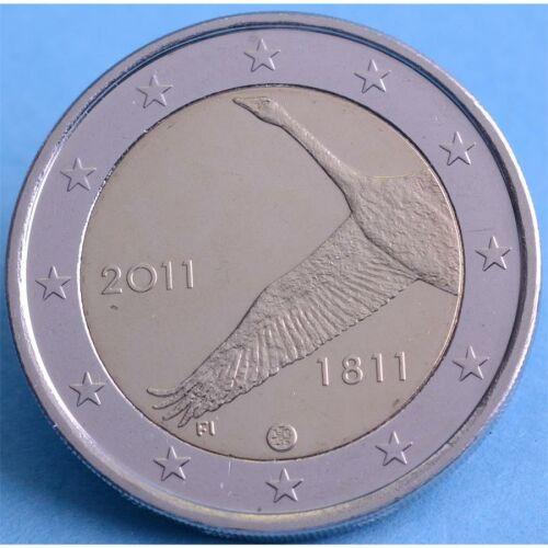 "Finnland 2 Euro 2011 ""200 Jahre Nationalbank"" unc."