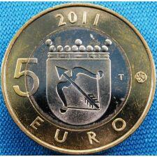 "Finnland 5 Euro 2011 ""Savo"" unc."