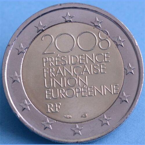 """Frankreich 2 Euro 2008 """"Ratspräsidentschaft"""" unc."""