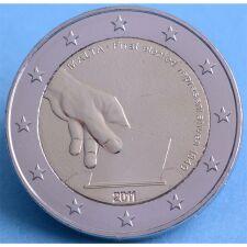 """Malta 2 Euro 2011 """"Verfassungsgeschichte ..."""" unc."""