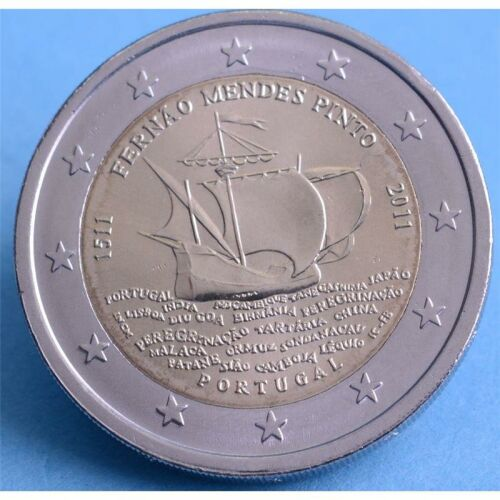 Portugal 2 Euro 2011 Fernao Mendes Pinto unc.