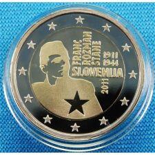 "Slowenien 2 Euro 2011 ""Franc Rozman"" PP"