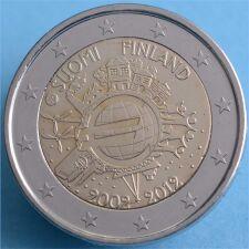 """Finnland 2 Euro 2012 """"10 Jahre Euro Bargeld"""" unc."""