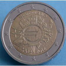 """Niederlande 2 Euro 2012 """"10 Jahre Euro Bargeld""""..."""