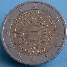 """Österreich 2 Euro 2012 """"10 Jahre Euro..."""
