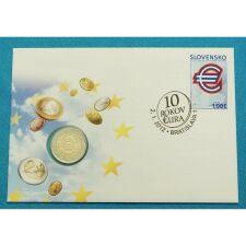 """Slowakei 2 Euro 2012 """"10 Jahre Euro Bargeld""""..."""