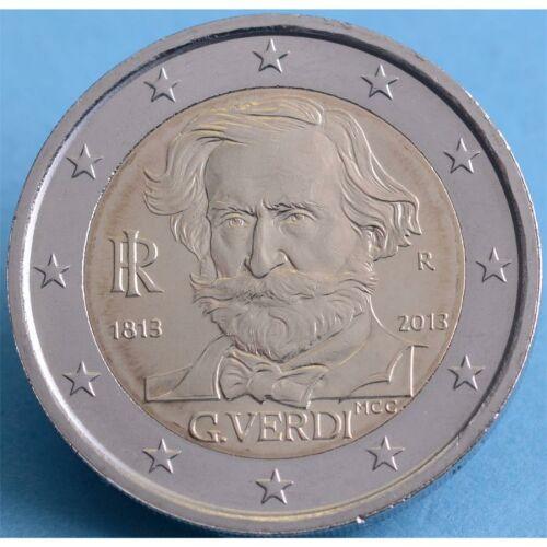"""Italien 2 Euro 2013 """"Giuseppe Verdi"""" unc."""